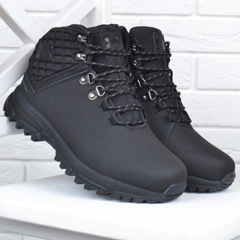 Ботинки зимние кожаные - Фото 6