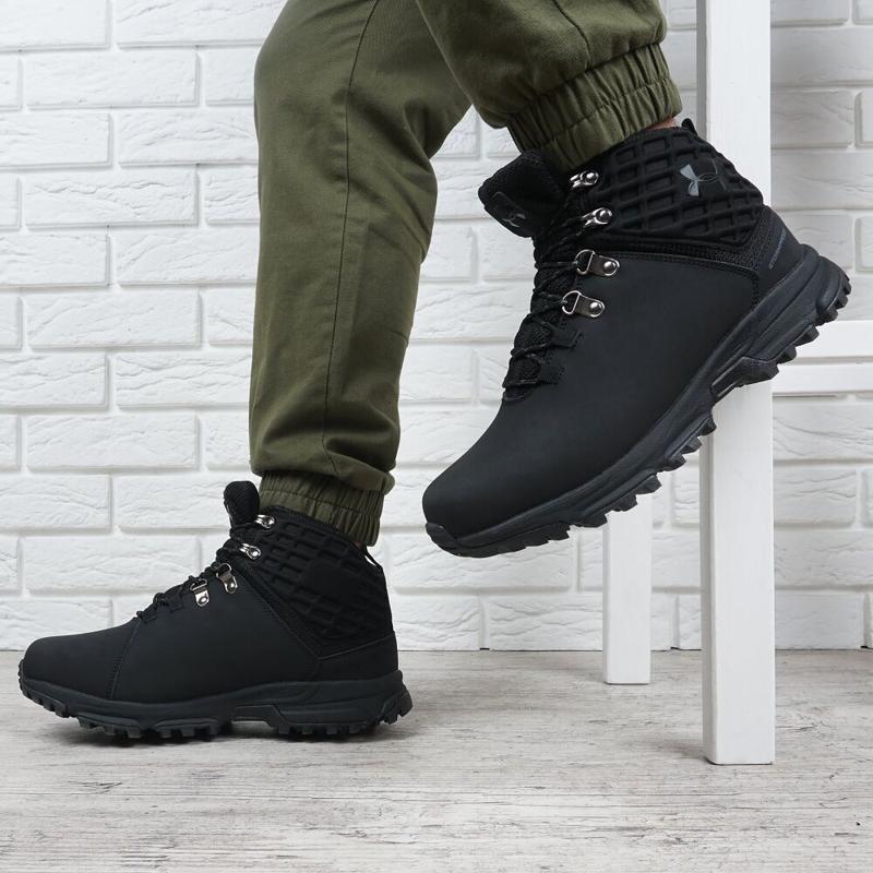 Ботинки зимние кожаные - Фото 7