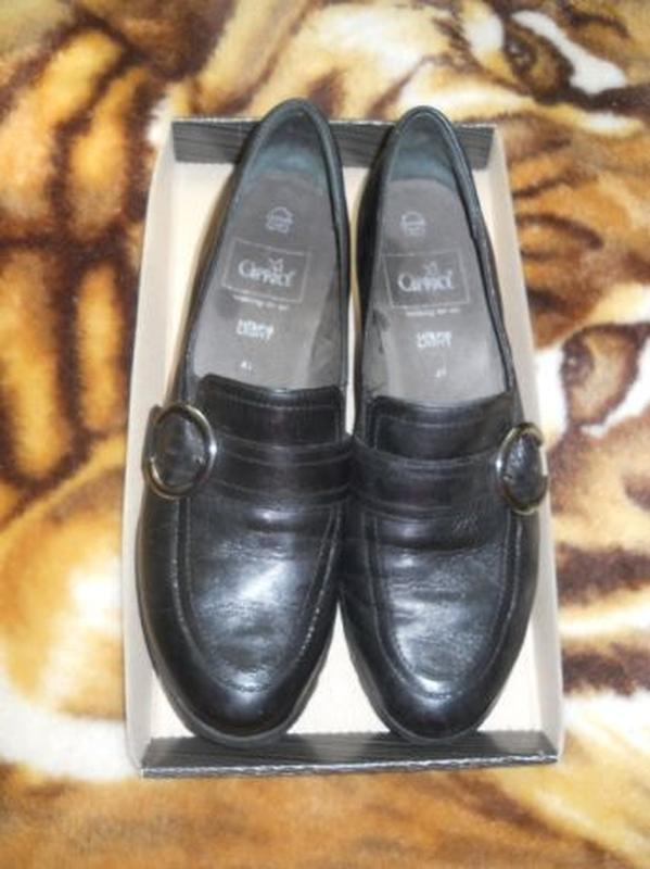Туфли на танкетке Сaprise,натуральная кожа, 41 размер,стелька ...