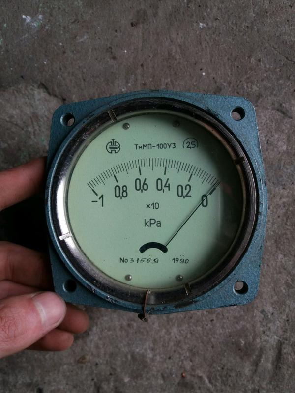 Вакуумметр для сеялки ТмМП-100, тягомер для сеялок.