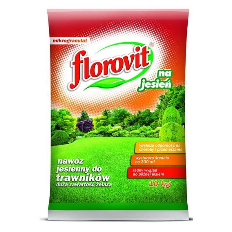 Удобрение осеннее ФЛОРОВИТ (Florovit) ДЛЯ ГАЗОНОВ 10 КГ