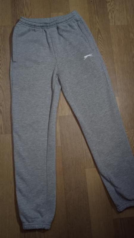 Спортивные штаны, утепленные, джогеры puma на 9-10 лет на флисе