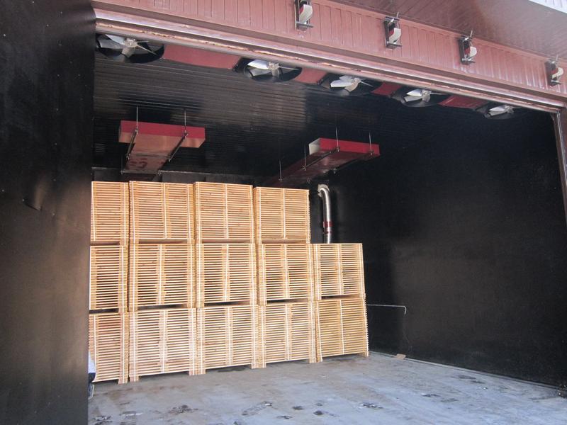 Сушильные камеры для древесины JUVENAL - сушилки для пиломатериал