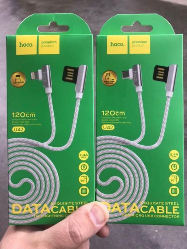 Кабель Hoco u42 micro usb, Lightning, apple, iphone, Android