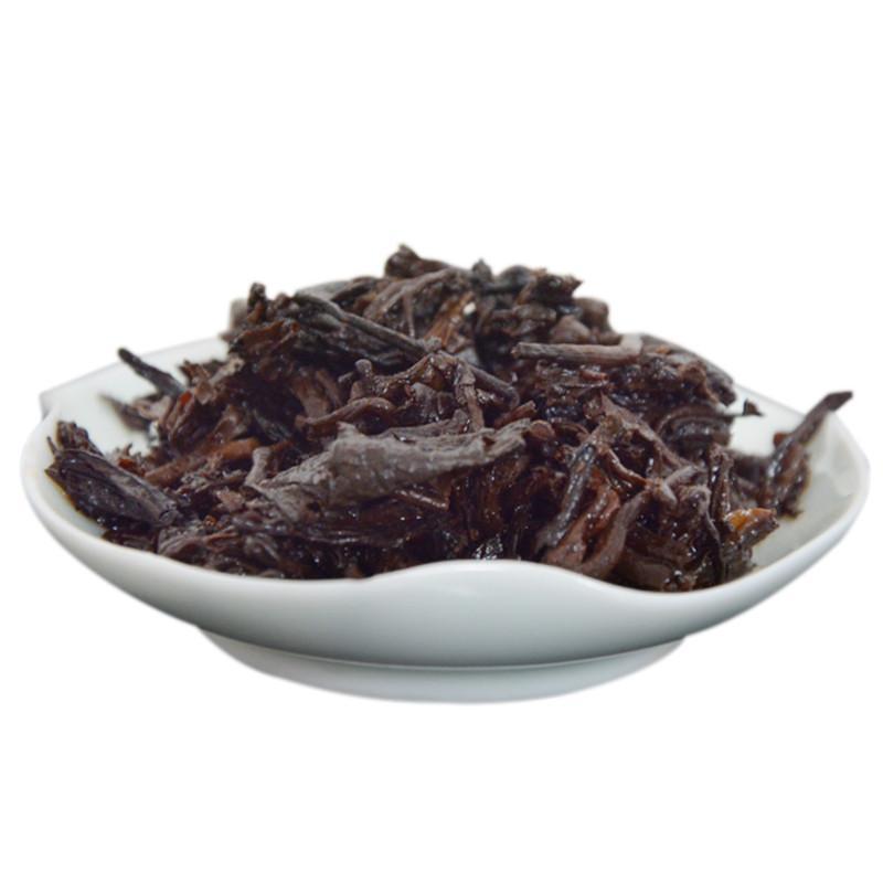 Шу пуэр (пуер) китайский черный чай 357 грамм 2012г - Фото 5