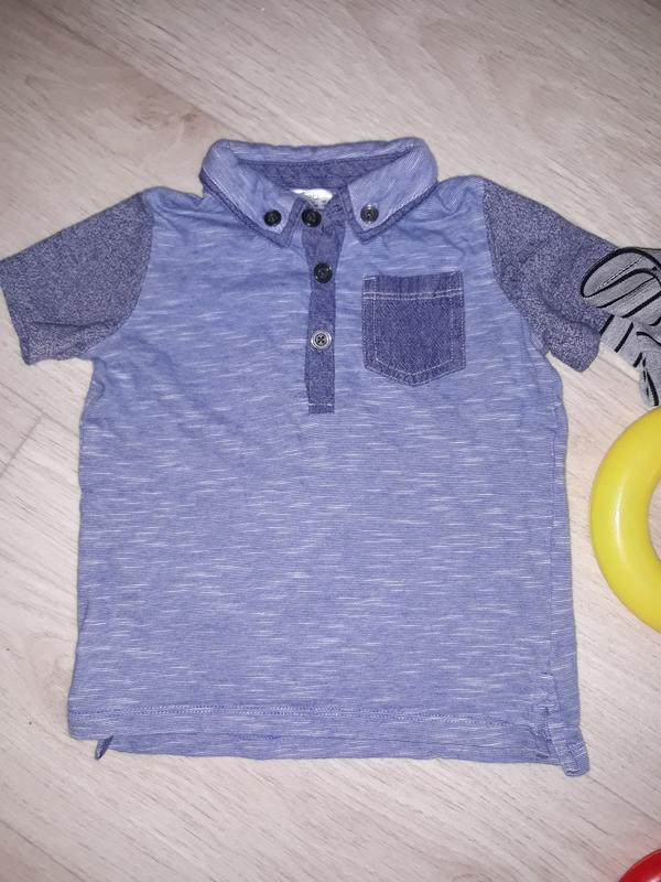 Крутезная футболка поло - Фото 2