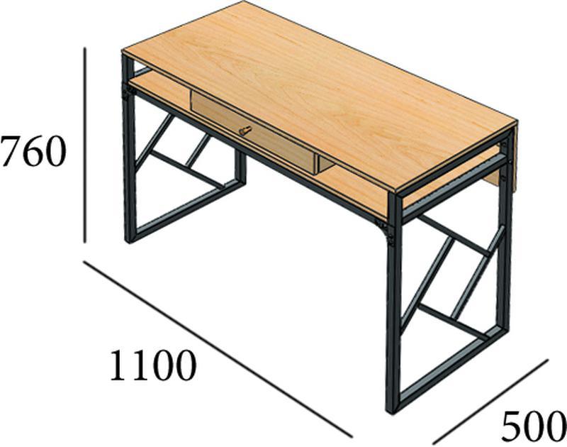 Рабочий стол для, письменный стол, компьютерный стол в дом/офис - Фото 2