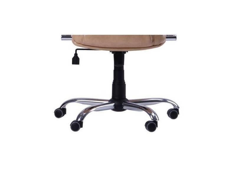 Офисное кожаное кресло Самба - Фото 2