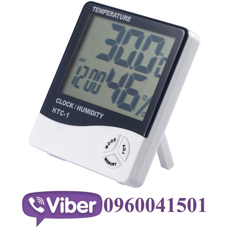 Метеостанция термометр гигрометр HTC-1