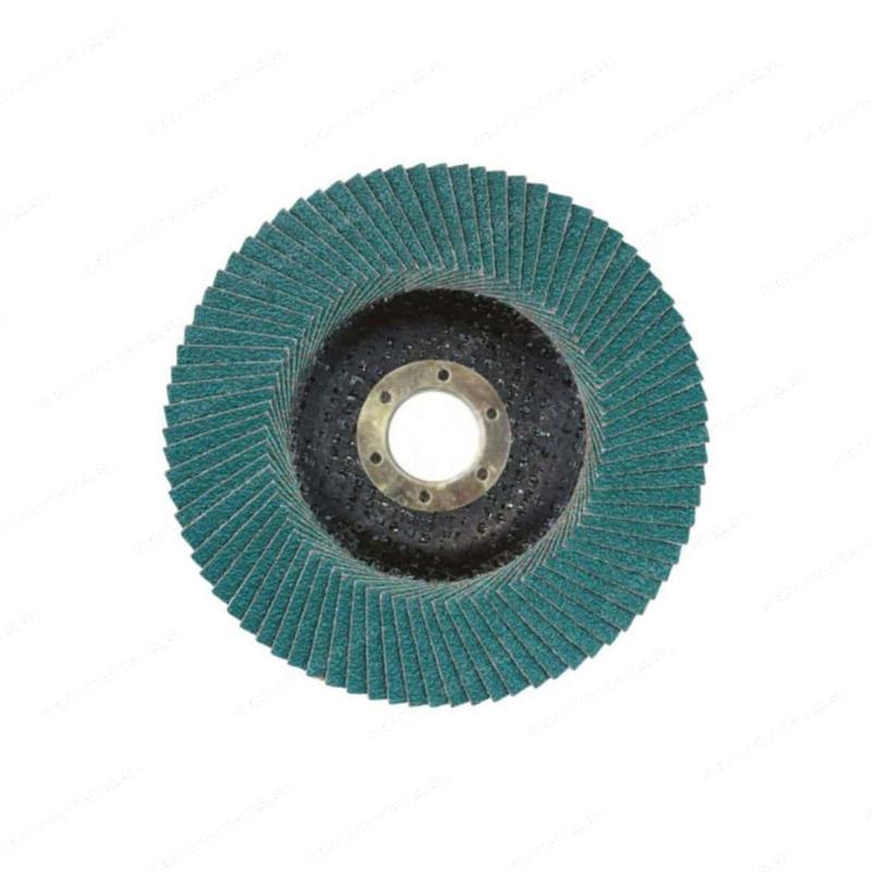 Круг лепестковый торцевой 125*22 Р120 цирконий