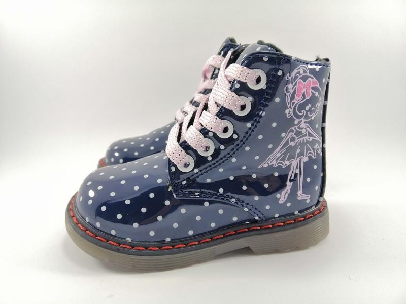 Демисезонные ботинки для девочек тм с.луч