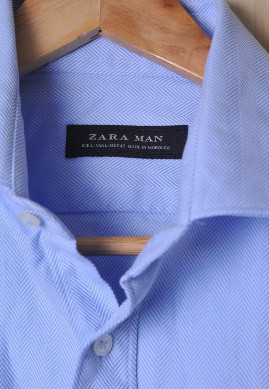 "Рубашка "" zara man "" - Фото 6"