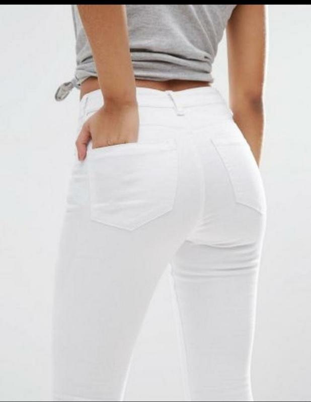 Denim co женские джинсы скинни высокая посадка джеггинсы узкие...