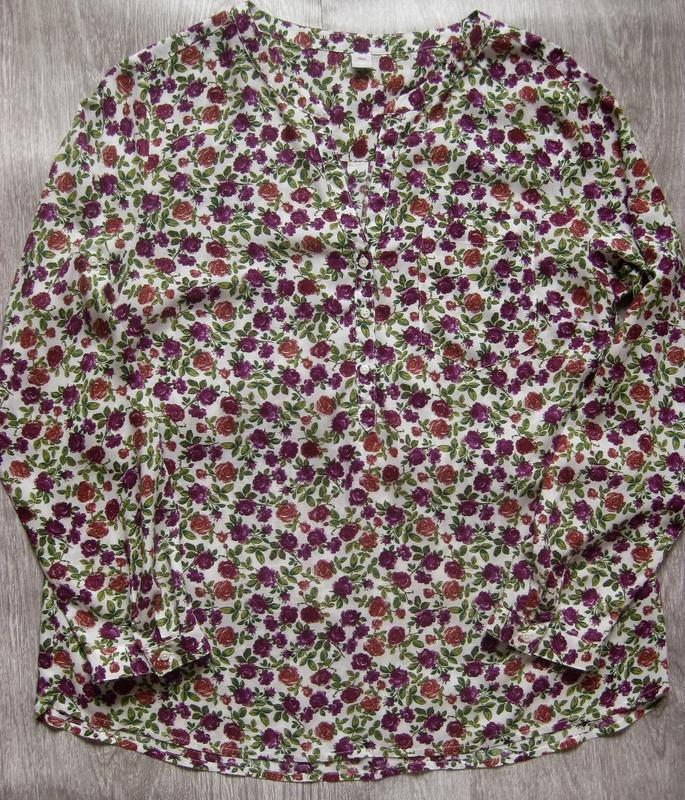 Блуза, рубашка в цветочный принт s. oliver