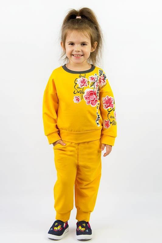 Спортивный костюм на девочку от 3 до 7 лет
