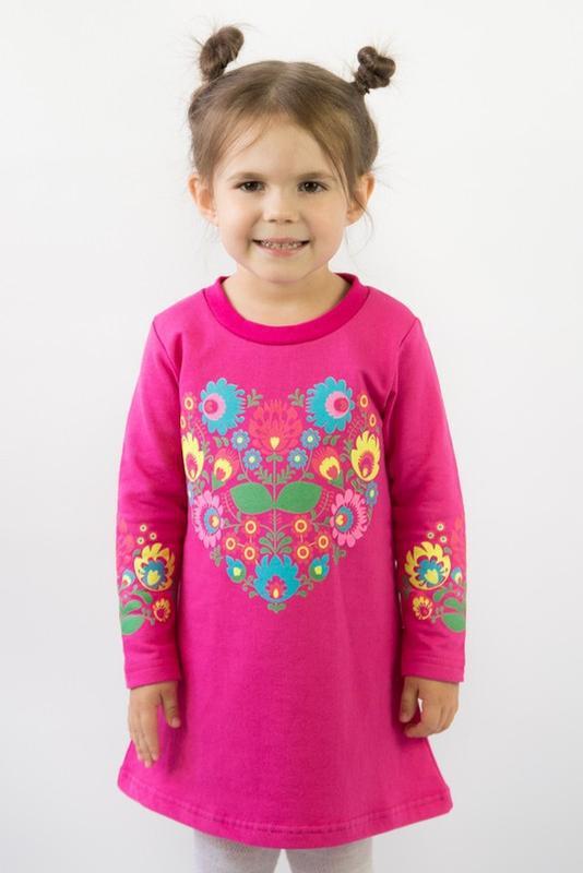 Платье с начесов на девочку от 2 до 5 лет