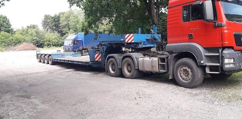 Аренда Трала 55 тонн.