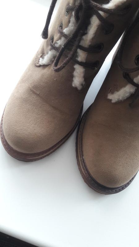 Ботинки fiore из эко замши каблук р.38 - Фото 3