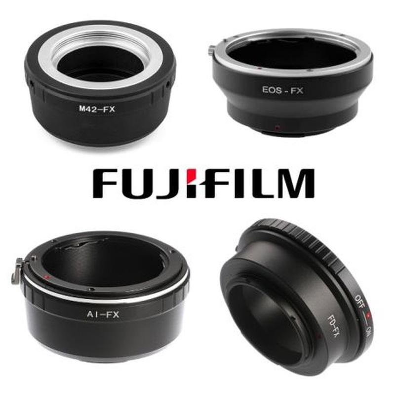Адаптер переходник для Fujifilm M42-FX, Canon EOS-FX, Nikon AI...