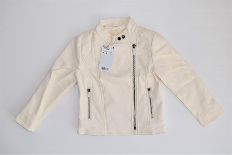 Стильная куртка на молнии mango - Фото 3