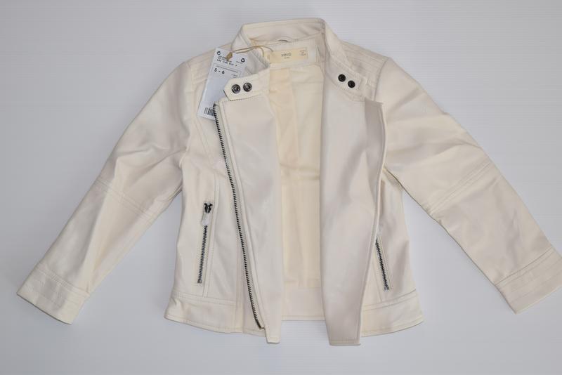 Стильная куртка на молнии mango - Фото 4