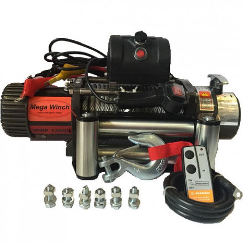 Усиленная лебедка на эвакуатор Mega Winch серии Power MWE 12500