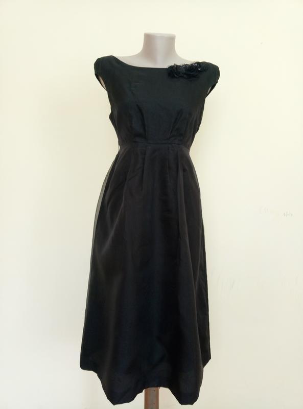 Шикарное шелковое платье от zara - Фото 2