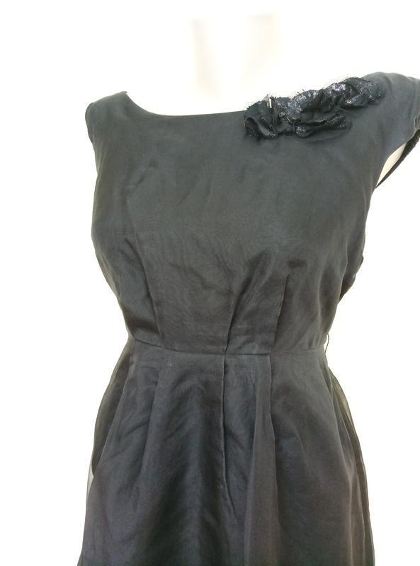 Шикарное шелковое платье от zara - Фото 3