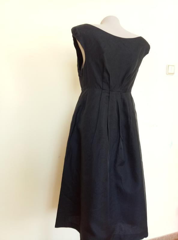 Шикарное шелковое платье от zara - Фото 7