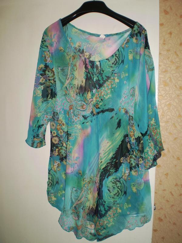 Легкая блуза- туника
