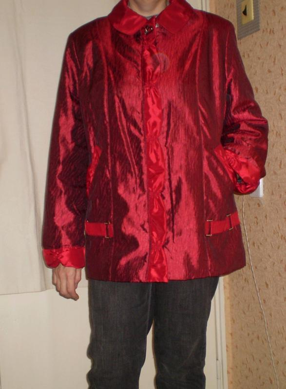 Куртка демисезонная, большой размер