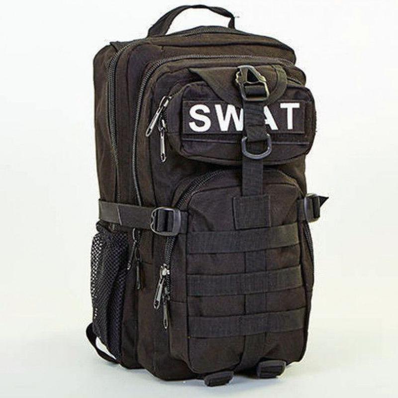 Тактический штурмовой военный рюкзак 30л Tactic (SWAT-3P-black)