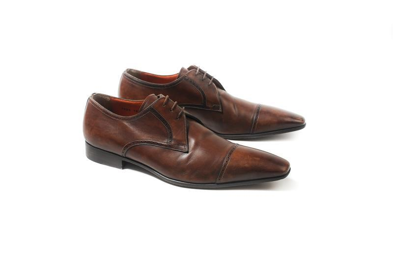 Santoni derbies мужские туфли обувь prada tods bally alden