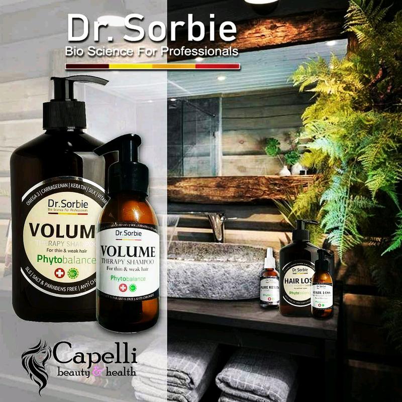 Dr.Sorbie шампунь-антихлорVOLUME THERAPY SHAMPOO - Фото 4
