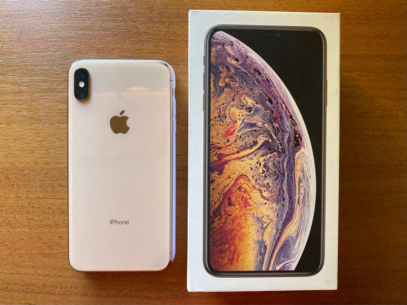 IPhone XS Max Gold 64gb dual sim neverlock