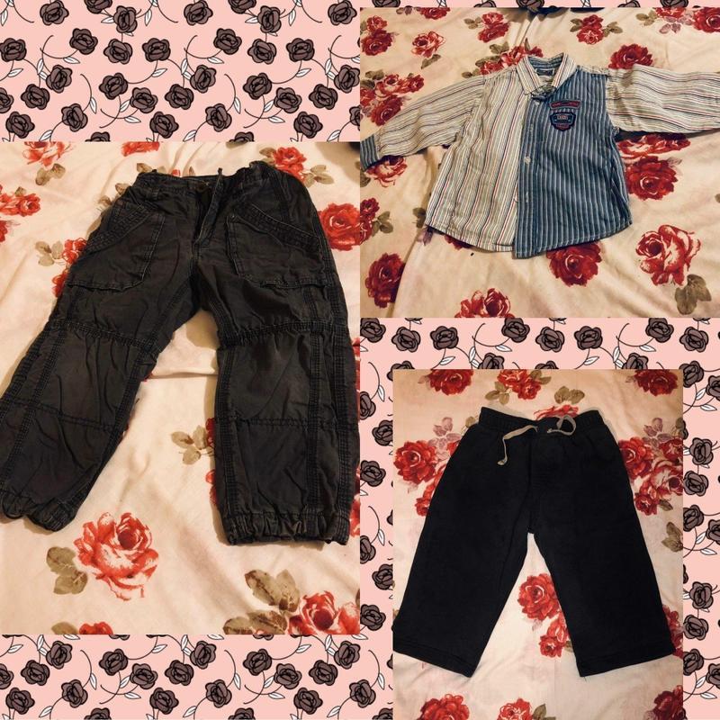 Розпродаж штани+сорочка+джинси