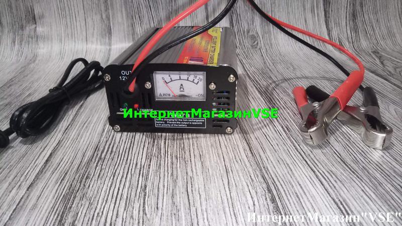 Автомобильное Зарядное Устройство для Аккумуляторов 12V-10A, MA-1 - Фото 3