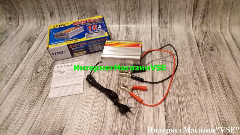 Автомобильное Зарядное Устройство для Аккумуляторов 12V-10A, MA-1 - Фото 2