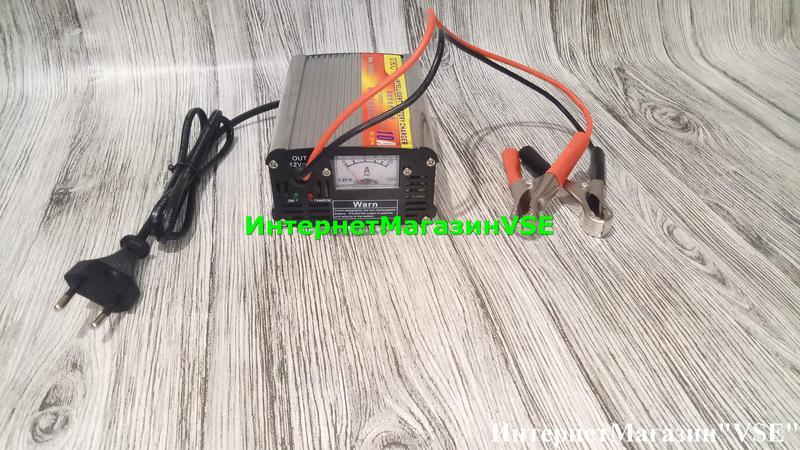Автомобильное Зарядное Устройство для Аккумуляторов 12V-10A, MA-1 - Фото 4