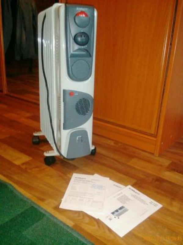 Радиатор Scarlett 9 секций, 2200 Вт.