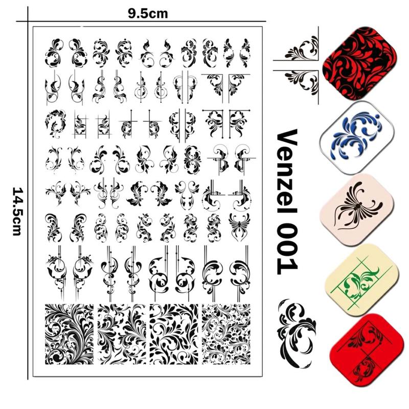 Пластины для стемпинга пластини для стемпінгу ногтей маникюра