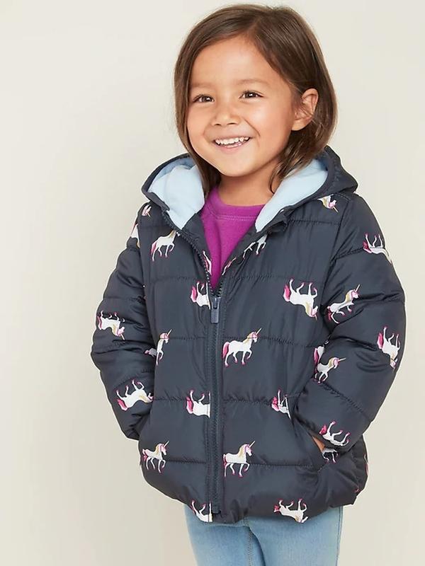 Куртка  для девочки  Олдневи 2-3 года Единорог