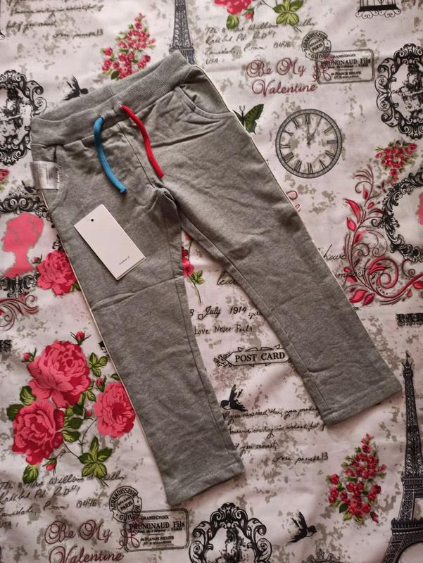 Спортивные штанишки для мальчика на 3-4 года