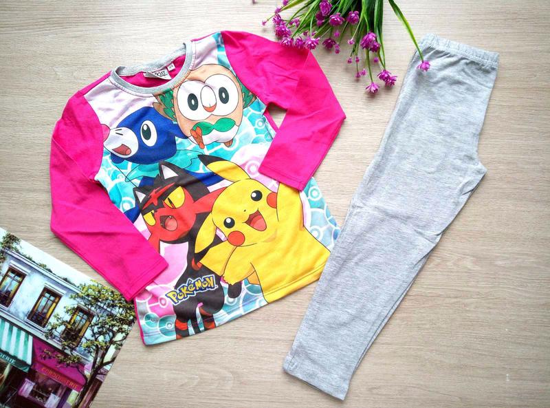 Пижамка для девочки на 5-6 лет Pokémon