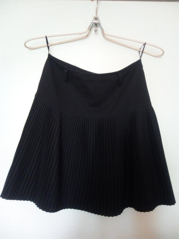 Школьная юбка-клеш р.164