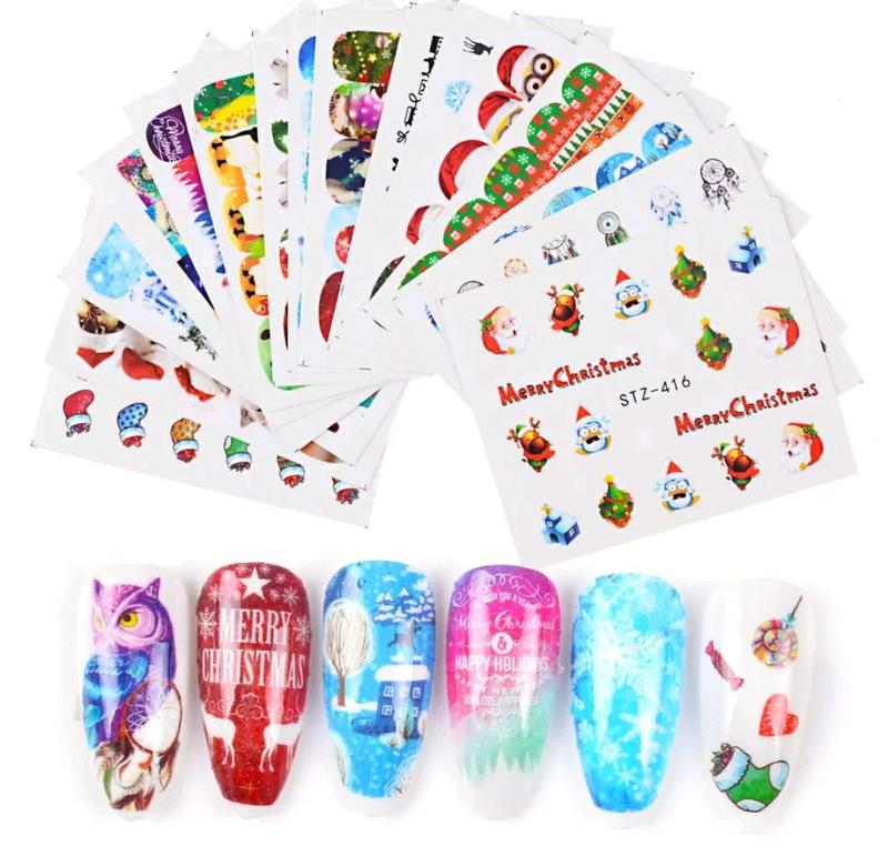 Наклейки слайдеры для ногтей маникюра