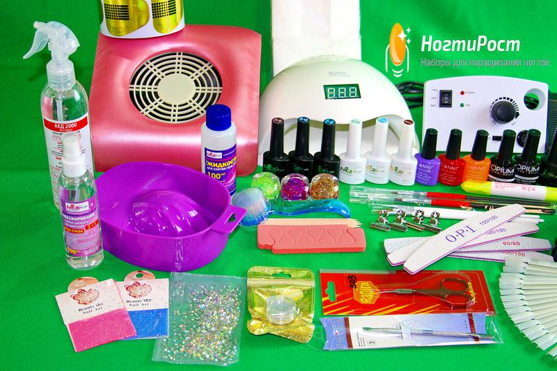 Профессиональный стартовый набор для наращивания ногтей № 35 - Фото 3