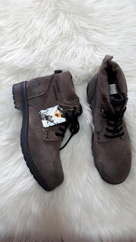 Замшевые ботинки dockers, размер 43