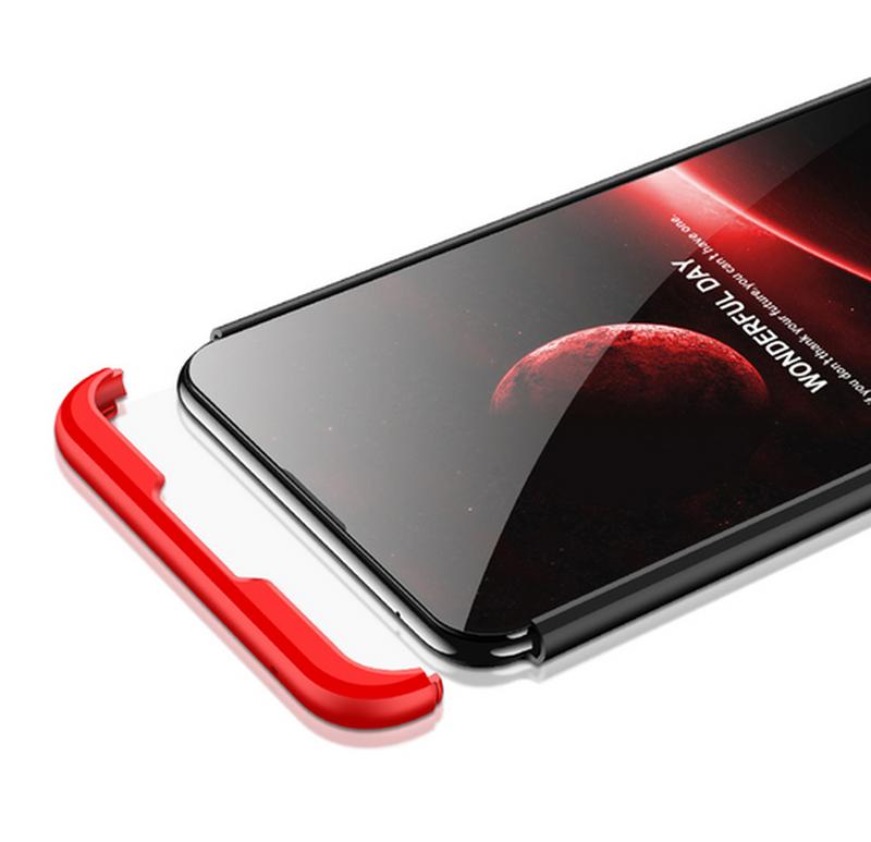 Чехол Asus Zenfone Max Pro M2 ZB631KL + стекло + кольцо + ремешок - Фото 4