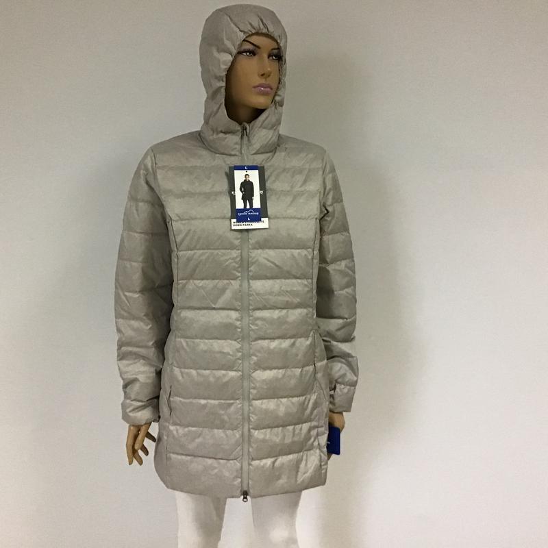 Жіноча пухова куртка -парка eddie bauer